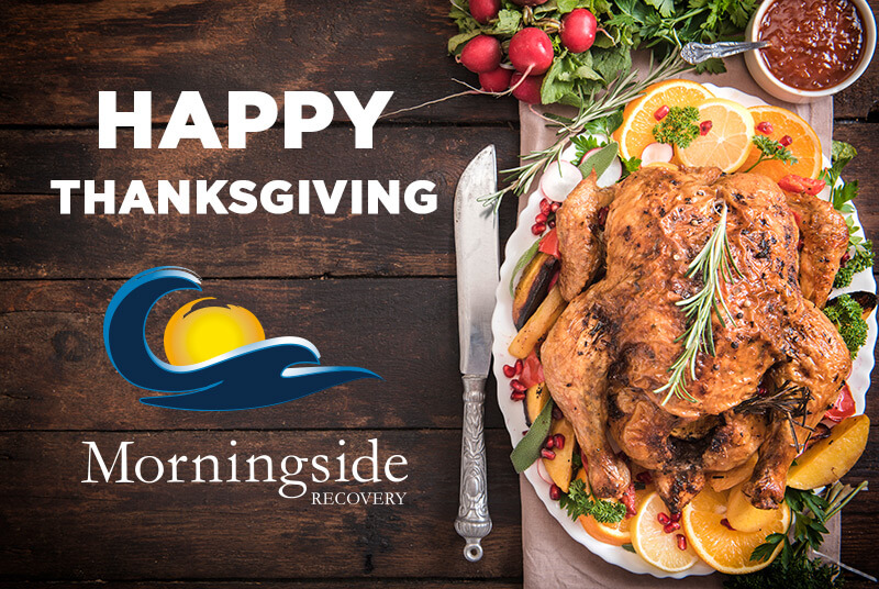 Happy Thanksgiving from Morningside Recovery