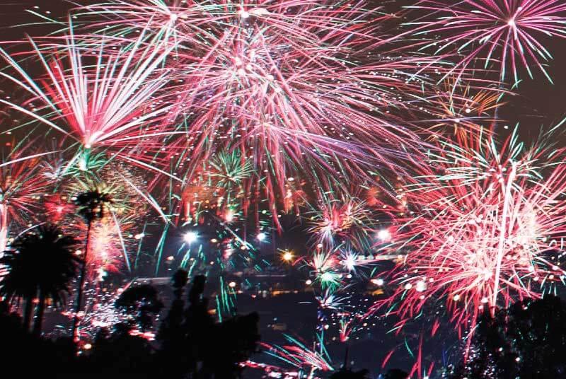 Sober New Year's Eve Celebrations in Southern California